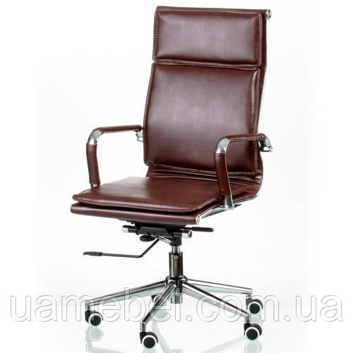 Крісло керівника Solano 4 artleather brown E5227