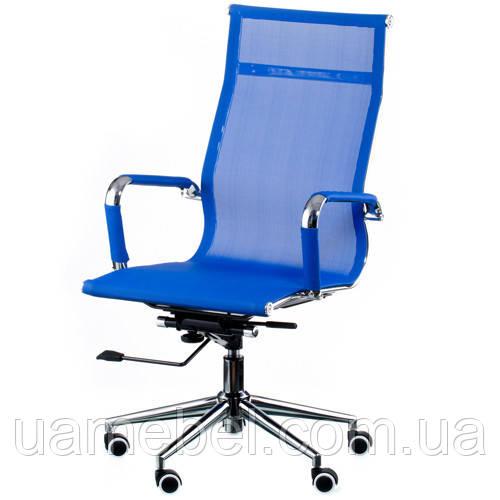 Кресло руководителя Solano mesh blue E4916