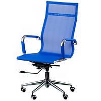Кресло руководителя Solano mesh blue E4916, фото 1