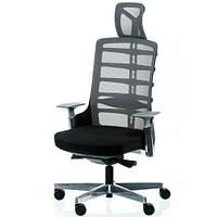 Кресло для руководителя SPINELLY black/metallic E5463, фото 1