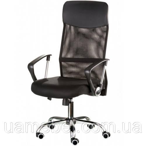 Кресло офисное руководителя Supreme black E4862