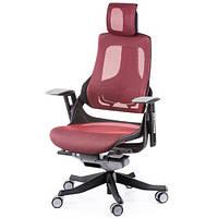 Кресло руководителя WAU DEEPRED NETWORK E0802, фото 1