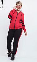 Спортивный костюм женский турецкая двунитка в большом размере 48-50, 52-54