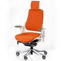 Кресло для руководителя WAU MANDARIN FABRIC WHITE E5326, фото 1