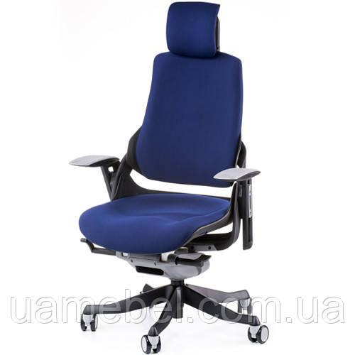 Кресло руководителя WAU NAVYBLUE FABRIC E0765