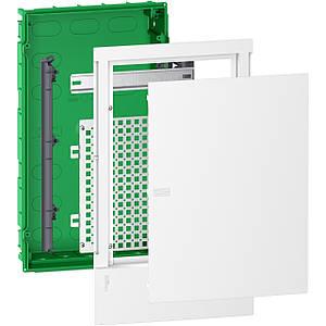 Щит мультимедійний вбудовуваний Schneider Mini Pragma 3 ряди 12 модуля IK07 63А IP40