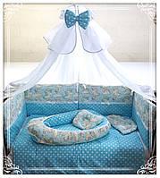Комплект в детскую кроватку Сказочный единорог