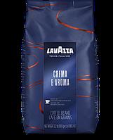 Кава в зернах Lavazza Crema e Aroma Espresso 1кг. (Італія)
