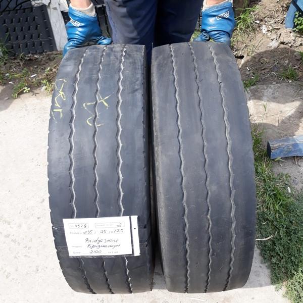 Грузовые шины б.у. / резина бу 235.75.r17.5 Bridgestone R168 Бриджстоун