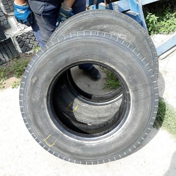 Шины б.у. 235.75.r17.5 Bridgestone R168 Бриджстоун. Резина бу для грузовиков и автобусов