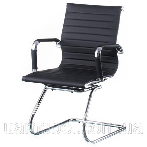 Кресло дляконференций Solano artleather conference black E5036