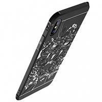 "TPU+PC чехол Черный дракон для Apple iPhone X (5.8"") / XS (5.8"")"