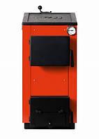 Традиционный твердотопливный котел Макситерм П 12 кВт с варочной поверхностью
