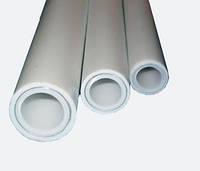 Труба полипропилен белый д.25 PN25 алюминий SPK