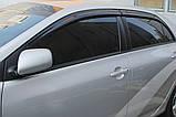 Ветровики, дефлекторы окон Toyota Corolla 2007-2012 (Autoclover) A169, фото 6