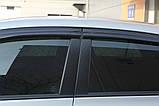 Ветровики, дефлекторы окон Toyota Corolla 2007-2012 (Autoclover) A169, фото 8