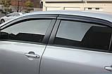 Ветровики, дефлекторы окон Toyota Corolla 2007-2012 (Autoclover) A169, фото 9