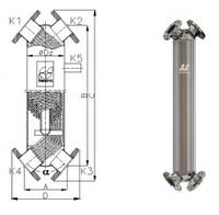 Теплообменник типа JAD X(K) 12.114.08.75