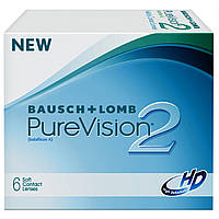 Линза контактная  PureVision2 HD, Bausch and Lomb USA