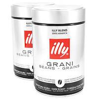Кофе illy Espresso Caffe In Grani темной обжарки ( 250 г) ж/б в зернах