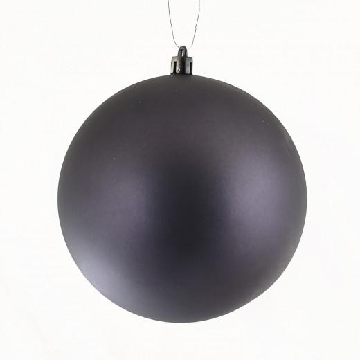 Куля ,d - 10 см, сірий графіт, матовий