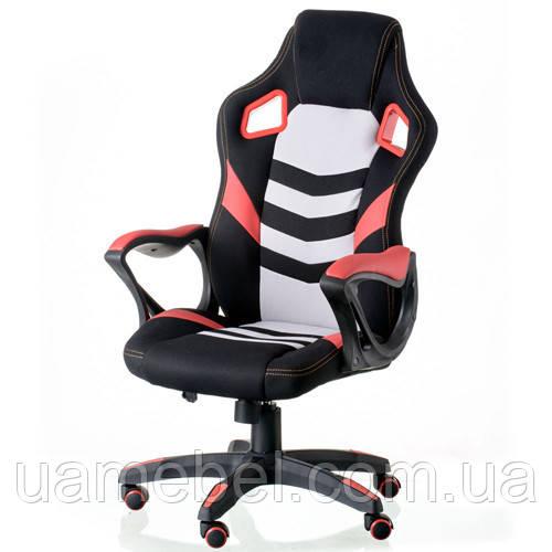 Кресло игровое для компьютера Abuse black/red E5586, фото 1