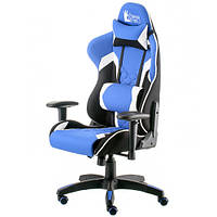 Игровое кресло для компьютера ExtremeRace 3 black/blue E5647