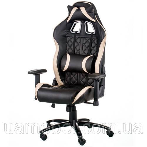 Игровое кресло для компьютера ExtremeRace 3 black/cream E5654
