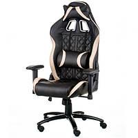 Игровое кресло для компьютера ExtremeRace 3 black/cream E5654, фото 1