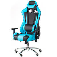 Игровое кресло ExtremeRace black/blue E4763, фото 1