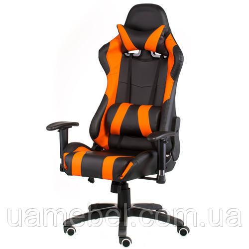 Игровое кресло ExtremeRace black/orange E4749