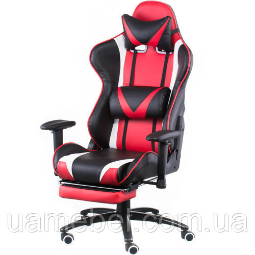 Кресло игровое ExtremeRace black/red with footrest E4947