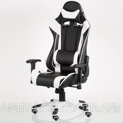 Игровое кресло ExtremeRace black/white E4770