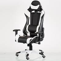 Игровое кресло ExtremeRace black/white E4770, фото 1