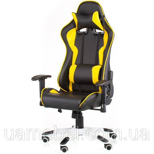 Игровое кресло ExtremeRace black/yellow E4756