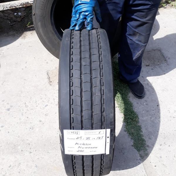 Шины б.у. 215.75.r17.5 Michelin X Multi Мишлен. Резина бу для грузовиков и автобусов
