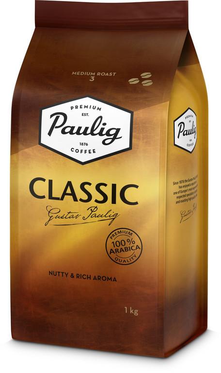 Кофе Paulig Classic (1000 г ) в зернах