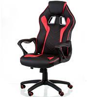 Ігрове крісло для комп'ютера Game black/red E5388, фото 1