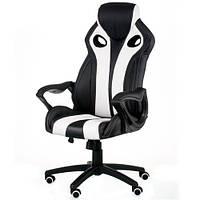 Игровое кресло Gish black/white E5524, фото 1
