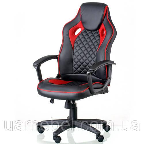 Игровое компьютерное кресло Mezzo black/red E5593