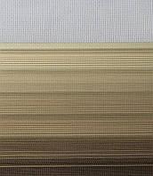 Готовые рулонные шторы Ткань Z-571 Бежево-коричневый
