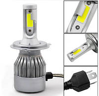 Автомобильные LED лампы Headlight C6 H4 (ближний/дальний)