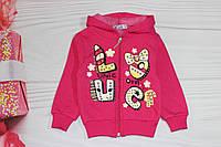 Кофта для девочки Малиновая, розовая, салатовая Турция от 1 до 4 лет, фото 1