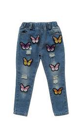 Джинсы, штаны, лосины для девочки