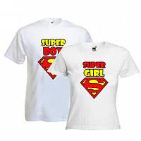 """Парные футболки """"Super пара"""""""