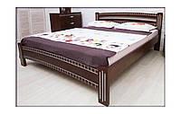 Кровать Пальмира патина 1,6м