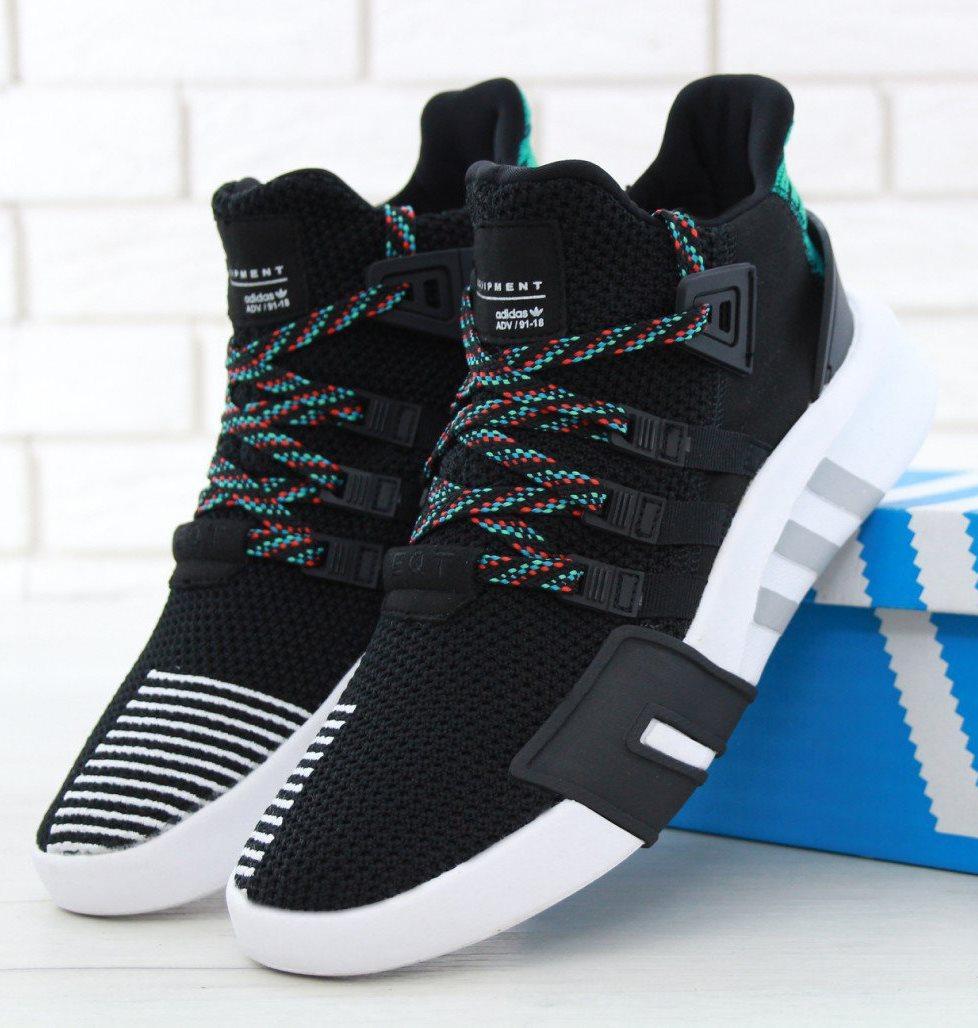 Мужские Кроссовки Adidas EQT Running Support ADV Black