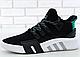 Мужские Кроссовки Adidas EQT Running Support ADV Black, фото 2