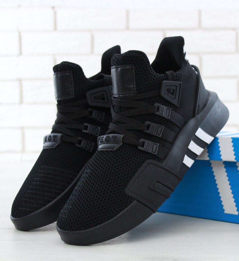 Мужские Кроссовки Adidas EQT Bask ADV Black