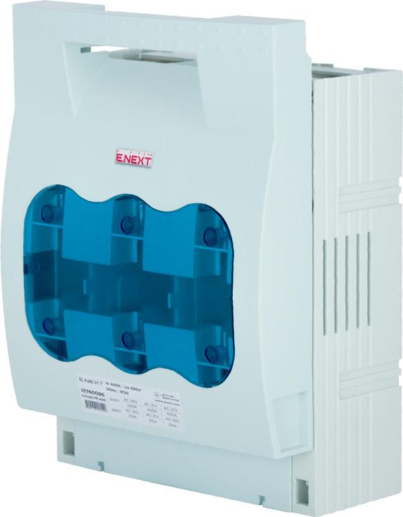Выключатель-разъединитель под предохранитель e.fuse.VR.400, габарит 2, 3 полюса, 400А ENEXT [i0760086]